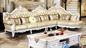 Sofa cổ điển góc L-02A