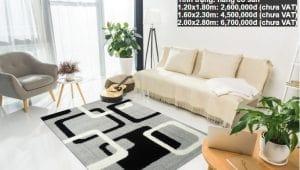 Thảm lông xù E0011