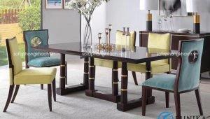 bàn ăn tân cổ điển đương đại Patrick XM-DK1006