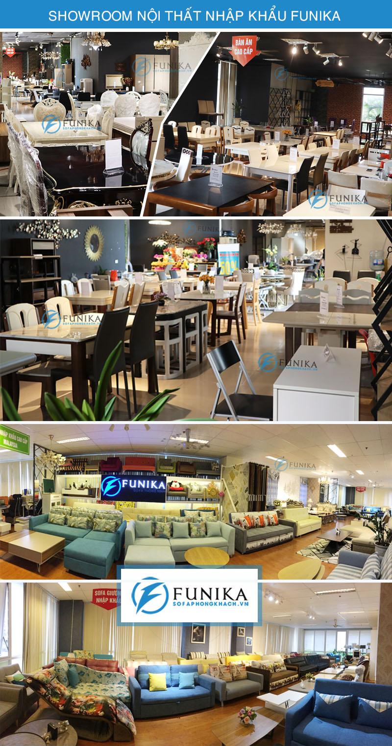 showroom nội thất nhập khẩu Funika