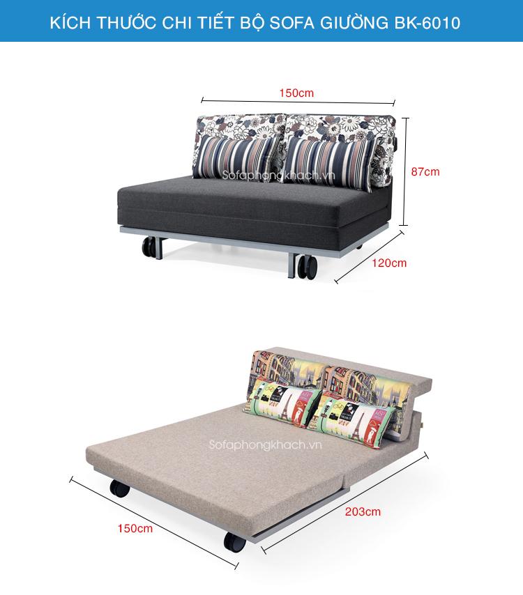 Sofa giường đa năng BK-6010