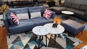 Sofa da văng dài A18