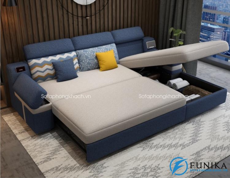 Bàn giao sofa giường S098 ở thành phố Thái Nguyên