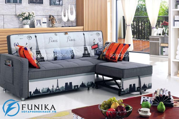 Bàn giao sofa giường BK-6080 tại Thanh Xuân