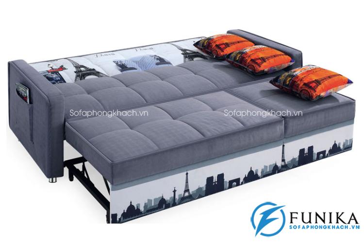 Bàn giao sofa giường BK-6080 tại Cầu Giấy