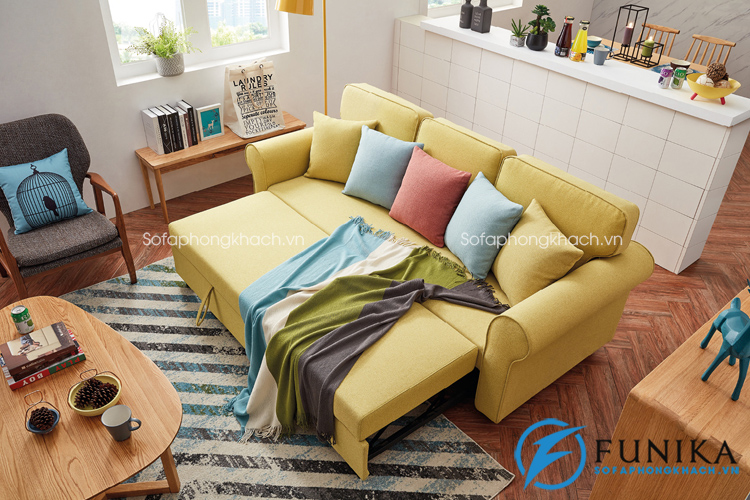 Bàn giao sofa giường DA-215 tại Tây Hồ