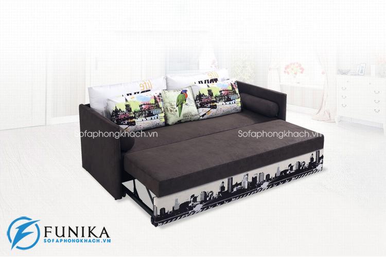 Bàn giao sofa giường 6082 tại Cầu Giấy