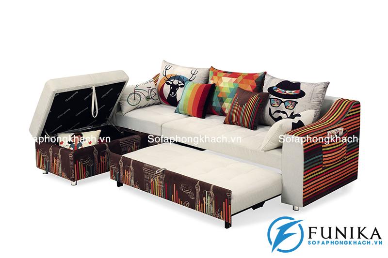 Bàn giao sofa giường BK-9012 tại quận Hoàn Kiếm