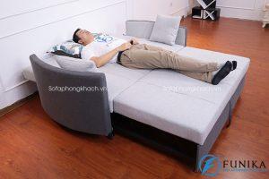 Bàn giao sofa giường 8001 tại Long Biên