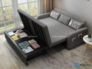 Sofa giường là sự kết hợp giữa sofa và giường ngủ