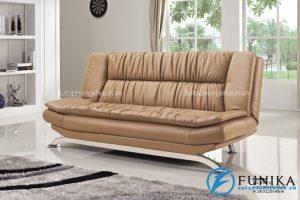 Sofa giường bằng chất liệu da mã 937