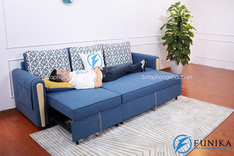 Sofa giường bằng gỗ L01