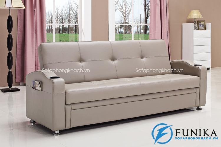 Sofa giường làm bằng da mã 909B