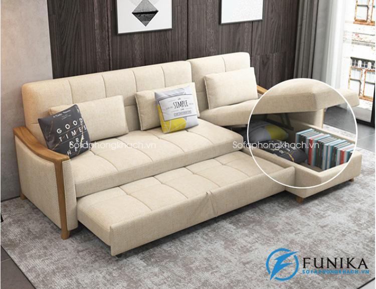 Sofa giường làm bằng gỗ 928G