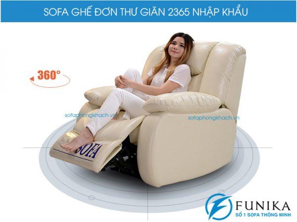 Ghế sofa đơn thư giãn 2365 cao cấp